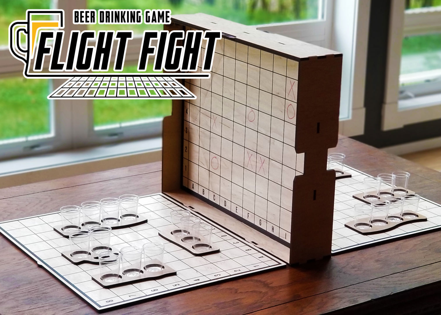 Flight Fight - The Ultimate Beer Drinking Party Game!